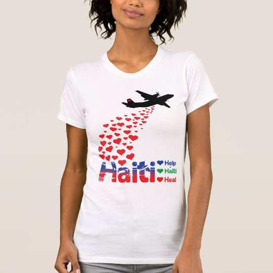 Profit to - Haiti Air Drop - Destroyed T-Shirt