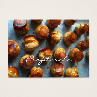 Profiterole Tea Salon Business Cards