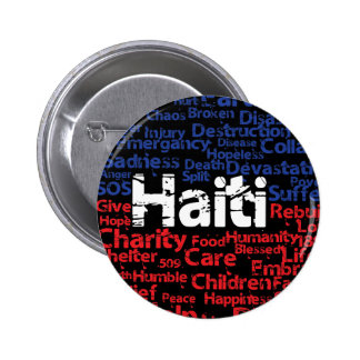 Profits to - Haiti Tags 2 Inch Round Button