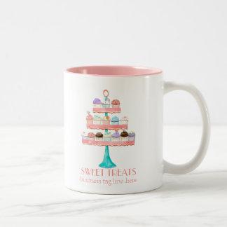 Progiciel de gestion de boulangerie de cuisson de tasse 2 couleurs