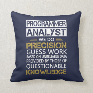 Programmer Analyst Throw Pillow