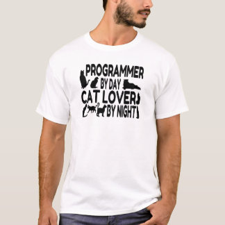 Programmer Cat Lover T-Shirt