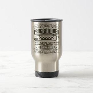Programmer Travel Mug