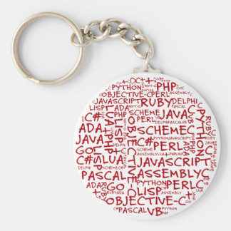 Programmers Have Multiple Programming Skills Keychains