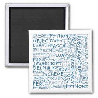 Programmers Have Multiple Programming Skills Magnet