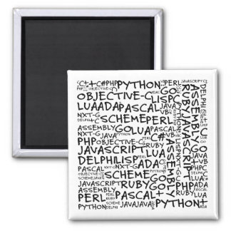 Programmers Have Multiple Programming Skills Fridge Magnets