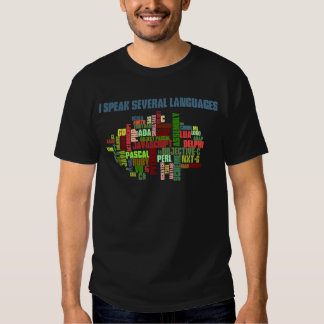 Programmers Have Multiple Programming Skills T-shirts