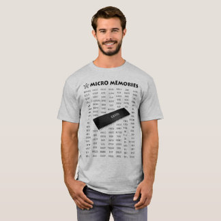 Programmer's T-Shirt with 68000 Chip and Mnemonics