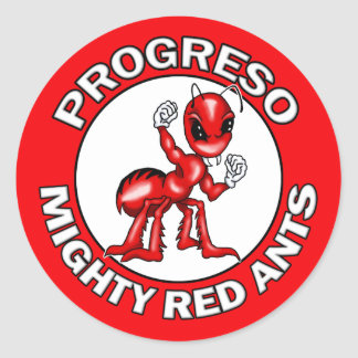 Progreso Mighty Red Ants Stickers