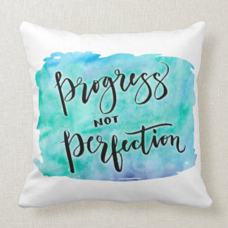 Progress Not Perfection Pillow