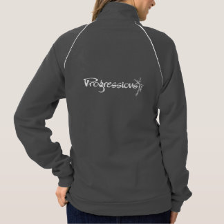 Progressions Logo Athletic Zip Up Jacket