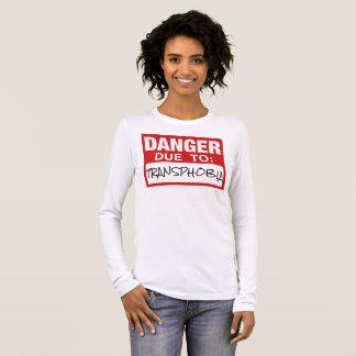 "Progressive ""Danger Due To Transphobia"" Shirt"