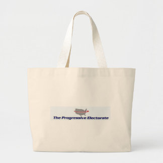 Progressive Electorate Products Large Tote Bag