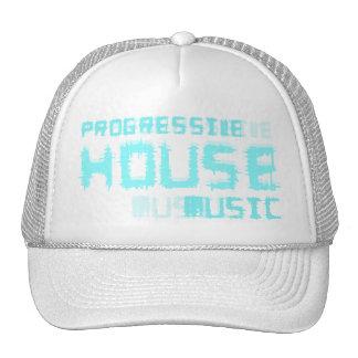 progressive house music hat