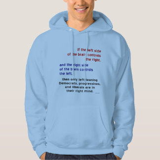 Progressives in Right Mind Hoodie