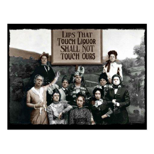 Prohibition Ladies Postcards