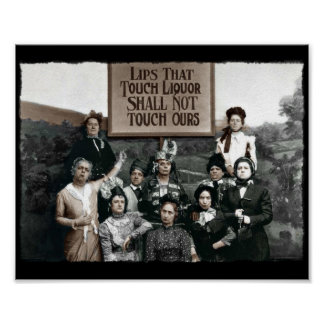 Prohibition Ladies Poster