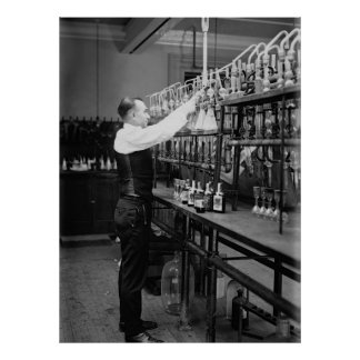 PROHIBITION LIQUOR TEST LAB 1920 POSTER