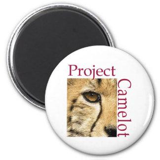Project Camelot Fridge Magnet