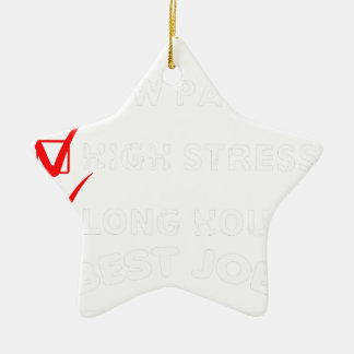 project engineer ceramic ornament