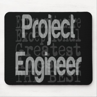 Project Engineer Extraordinaire Mouse Pad