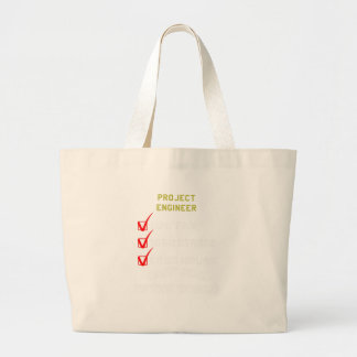 project engineer large tote bag