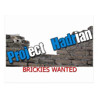 Project Hadrian Postcard