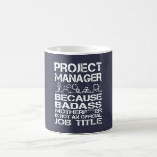 PROJECT MANAGER COFFEE MUG