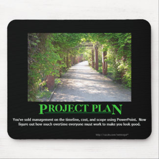 Project Plan - just make it match PowerPoint Mouse Pad