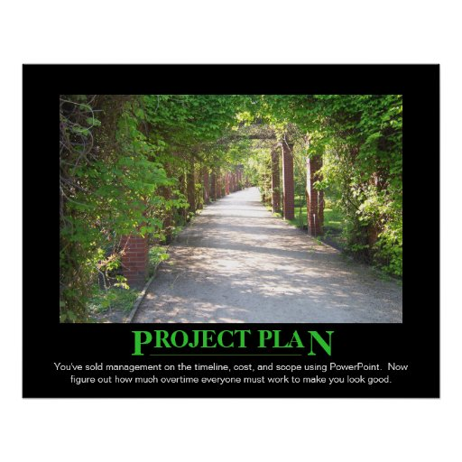 Project Plan - just make it match PowerPoint Poster