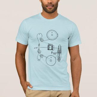 Projector Guts Schematic T-Shirt