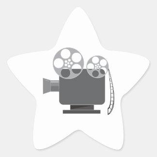Projector Star Sticker