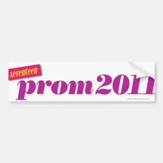 Prom 2011 - Purple Bumper Sticker
