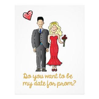 prom date letterhead