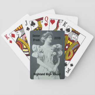 PROM FORMAL PLAYING CARDS SOUVENIR VICTORIAN
