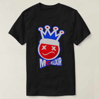 Prom King Signature Logo - Blue/Red Knockout T-Shirt