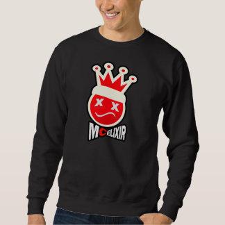 Prom King Signature Logo - Red & Cream Sweatshirt