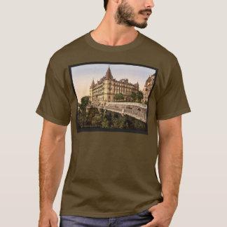 Promenade and Grand Hotel Gassion, Pau, Pyrenees, T-Shirt