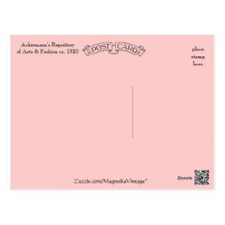 Promenade Dress Ackermann's Repository Postcard