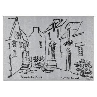 Promenade du Ruicard | La Roche-Bernard, Brittany Cutting Board