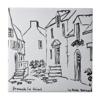 Promenade du Ruicard | La Roche-Bernard, Brittany Tile