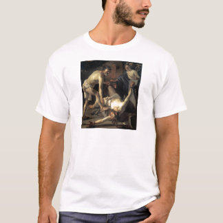 Prometheus Being Chained, by Dirck van Baburen T-Shirt