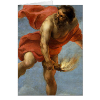 Prometheus Carrying Fire Card