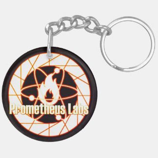 Prometheus Lab's keyholder [SCP Foundation] Double-Sided Round Acrylic Keychain