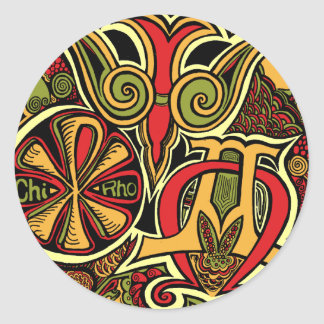 Promise of the Ancients Classic Round Sticker