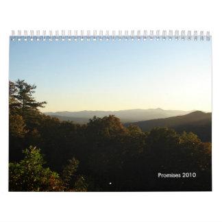 Promises 2010 wall calendar
