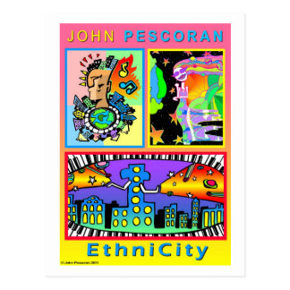 Promo Postcard EthniCity series