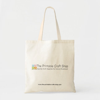 Promo Tote - The Printable Craft Shop