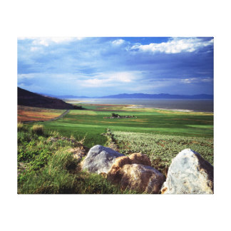 Promontory Peninsula Canvas Print