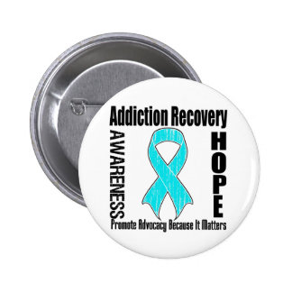 Promote Addiction Recovery Because It Matters 2 Inch Round Button